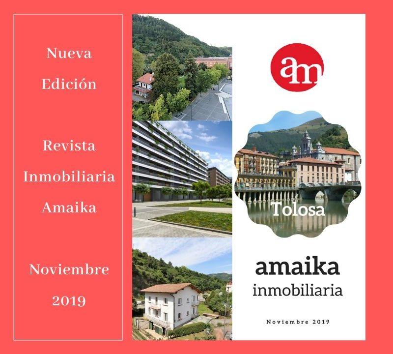 Nueva Edición Revista Inmobiliaria Amaika Noviembre 2019