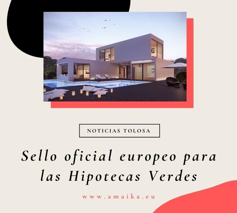 Sello oficial europeo para las Hipotecas Verdes