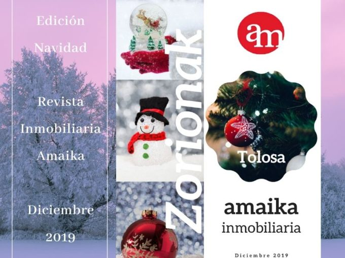 Edición Navidad Revista Inmobiliaria Amaika Diciembre 2019