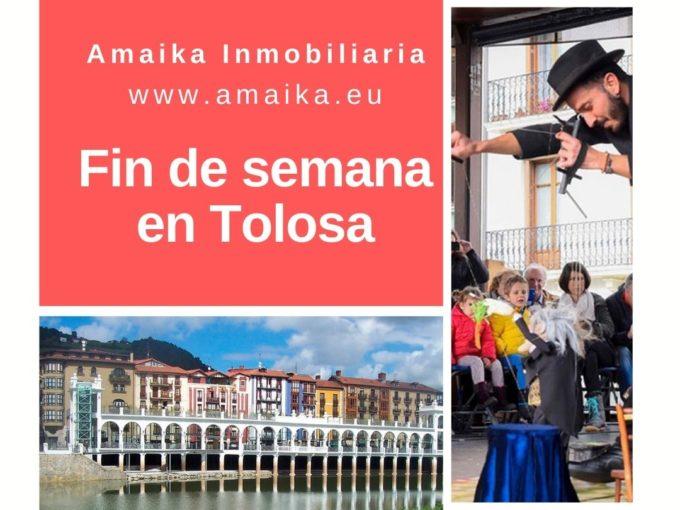 Fin de semana en Tolosa