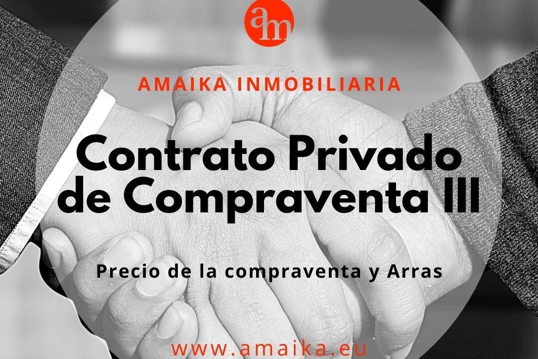 Contrato Privado de Compraventa III