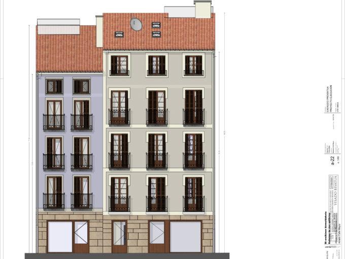 Duplex nueva construcción Tolosa, calle Mayor