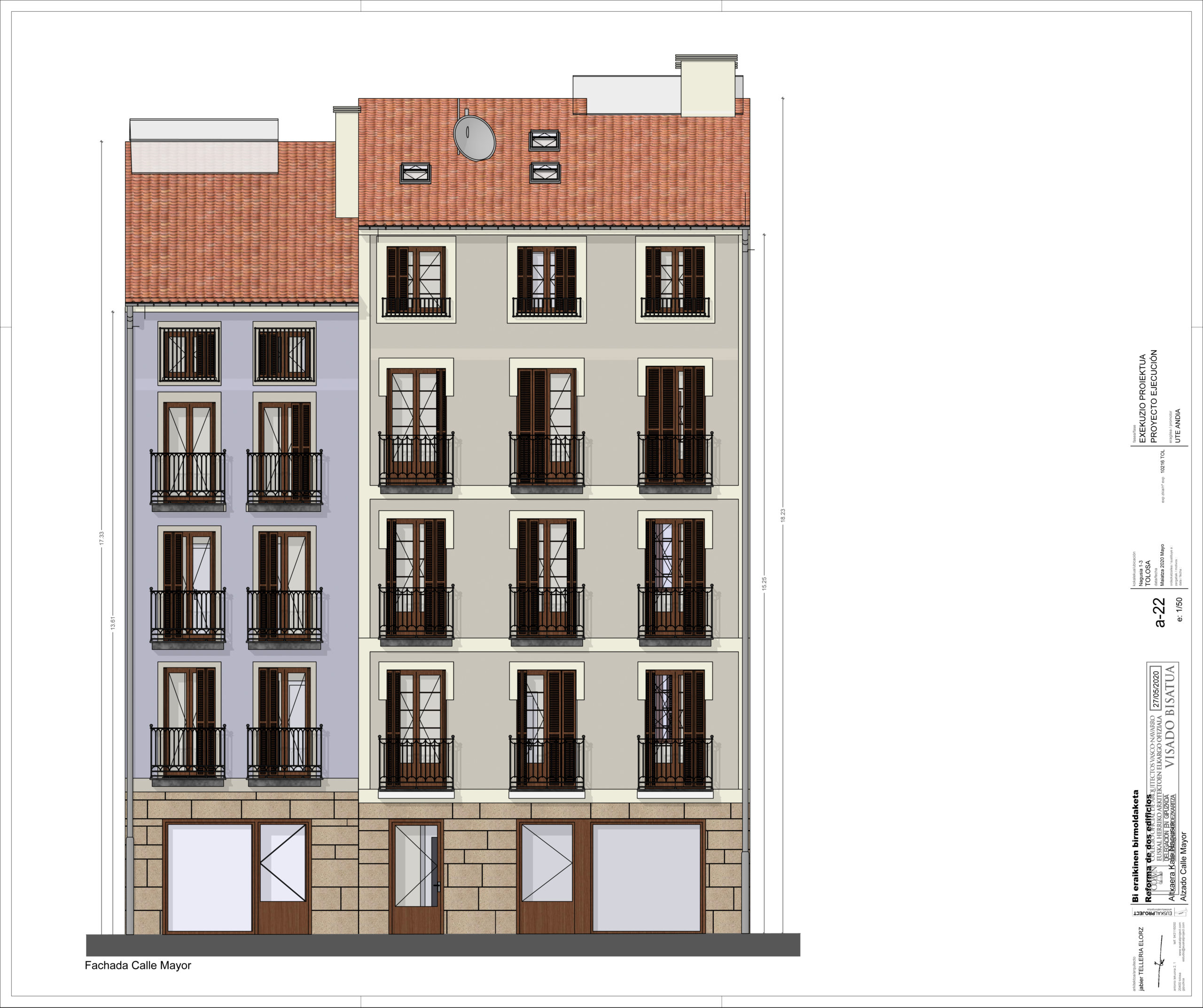 Piso en venta de nueva construcción en Tolosa, Gipuzkoa