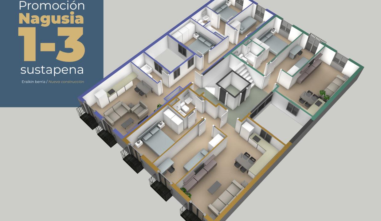 Piso en venta de nueva construcción, Tolosa, Gipuzkoa 4