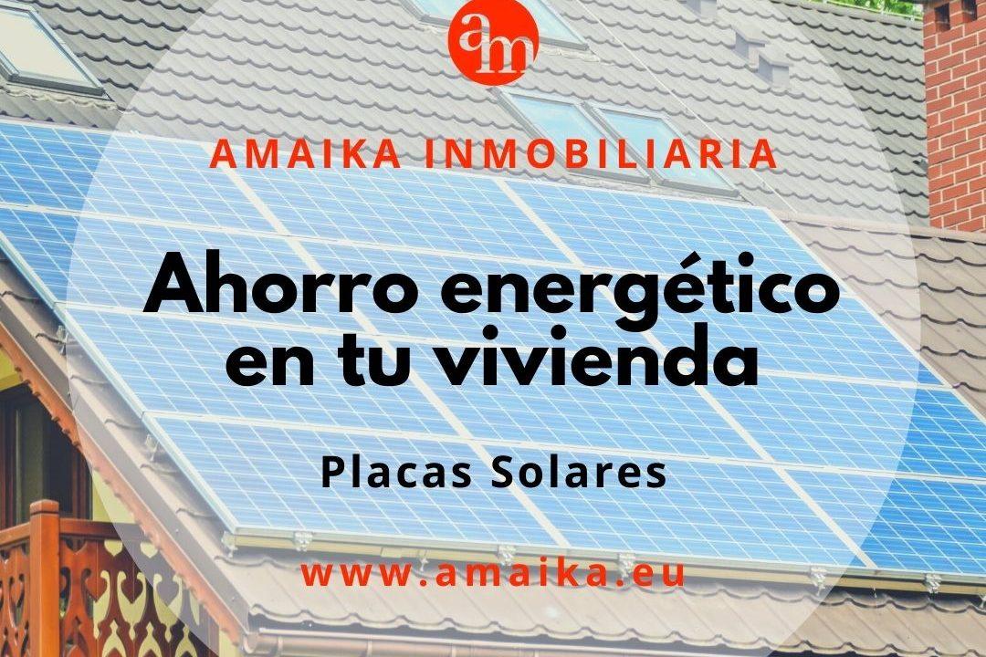 Ahorro energético en tu vivienda_ placas solares